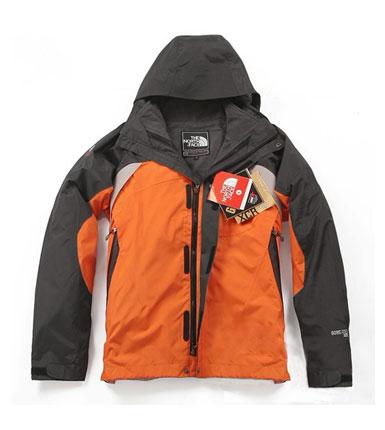时尚六色冲锋衣 蓝红军绿黑橘藏青