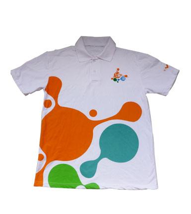 广告宣传衫-男士修身百搭休闲纯色短袖POLO衫