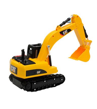 CAT 卡特比勒 13英寸挖掘机 工程车 按键遥控车模