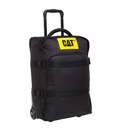 CAT 卡特彼勒 黑色商务旅行箱 拉杆箱