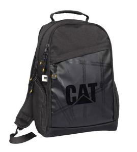 CAT 卡特彼勒 黑色经典双肩背包 运动时尚宽