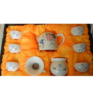 釉下五彩瓷器功夫茶具