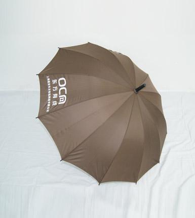 长柄广告伞