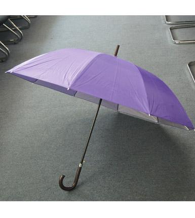 长柄涂层广告伞