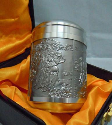 锡制茶叶罐