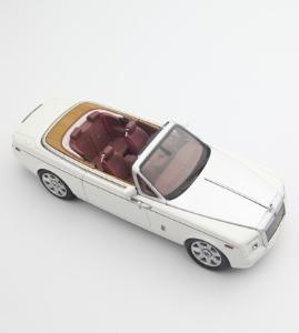 京商 1:43 劳斯莱斯 幻影 敞篷跑车 英国白色