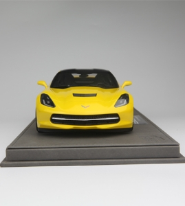 BBR 1:18 雪佛兰 克尔维特 Stingray 2013 黄色