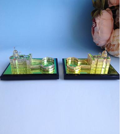 贵金属水晶定制-----城堡