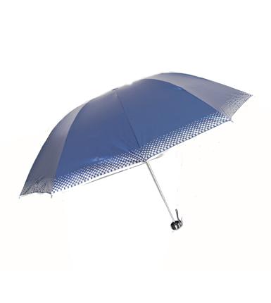 精品蓝色晴雨两用雨伞