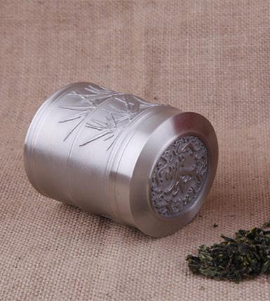 节节高升茶叶罐 锡质茶叶罐 高档馈赠礼品