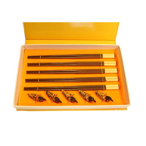 临工檀木筷子
