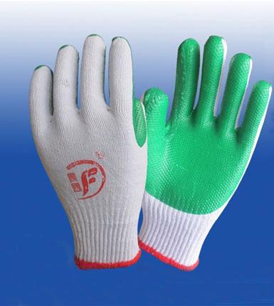 挂胶浸胶手套 防滑防割耐磨