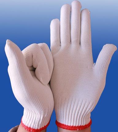 尼龙加厚 劳保手套 防滑耐磨