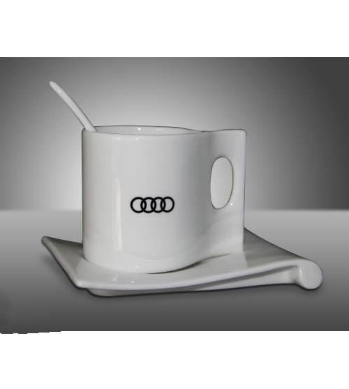奥迪咖啡杯