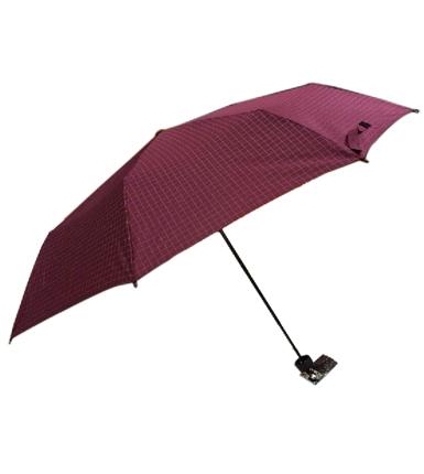 天堂伞 高密碰击布三折晴雨伞