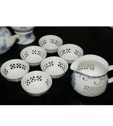 玲珑瓷器茶具