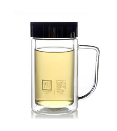 富光拾喜--高硼硅玻璃办公杯