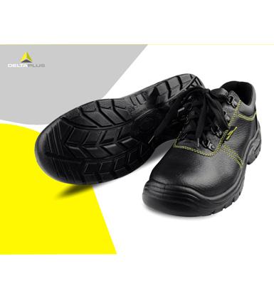 法国代尔塔--- 牛皮安全鞋