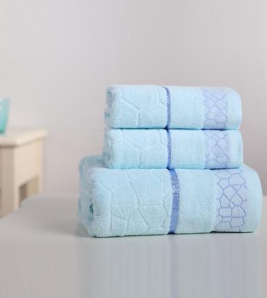 博洋家纺--毛浴巾三件套
