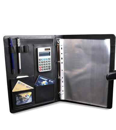 A4文件夹 老板家 带计算器