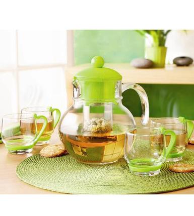 乐美雅--球形茶具5件套