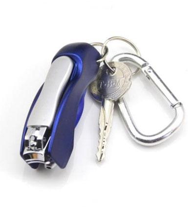 不锈钢多功能指甲剪  带圆珠笔