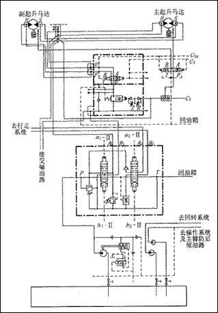200t液压履带式起重机的工作原理图片