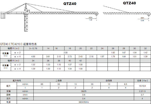 4808)塔式起重机