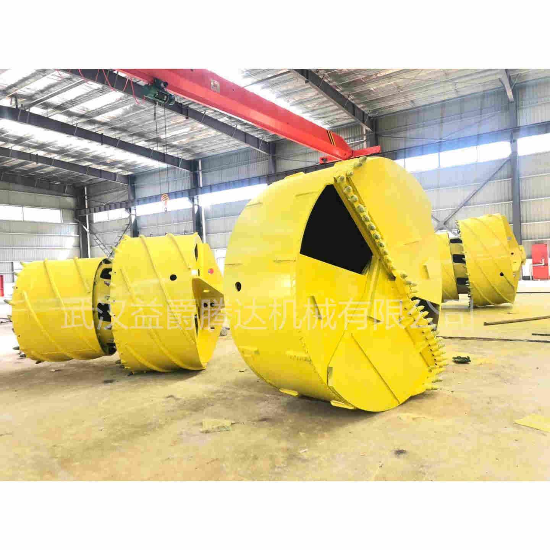 武汉厂东莞厂定做800捞沙斗 1米 1.2米截齿双底钻头 嵌...
