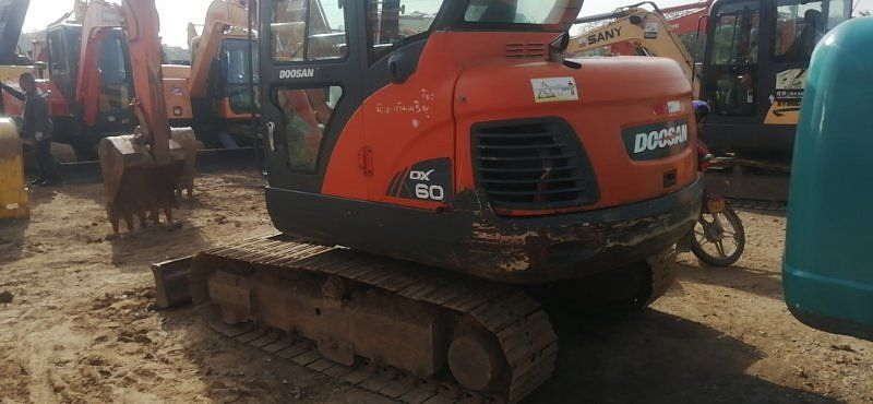 斗山DX60W-9C二手挖掘機