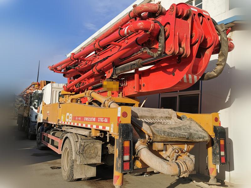 三一2019年三一37米混凝土泵車二手混凝土機械