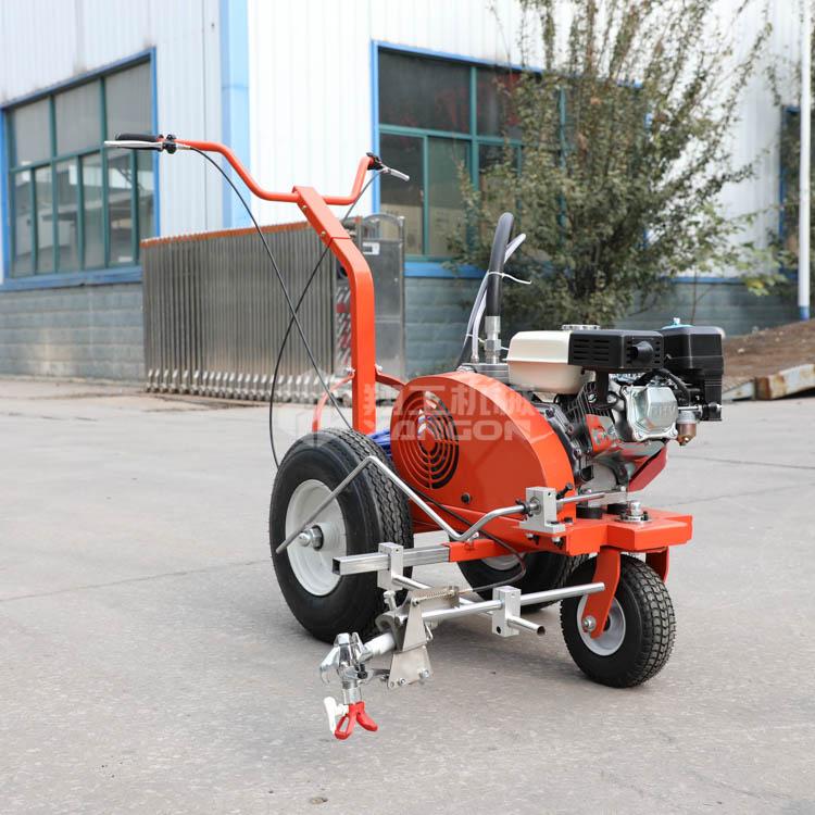 山东翔工机械冷喷划线机厂家现货地面划线园区停车位划线设备