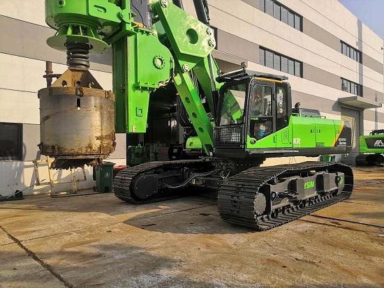 中联重科ZR160L二手旋挖钻机