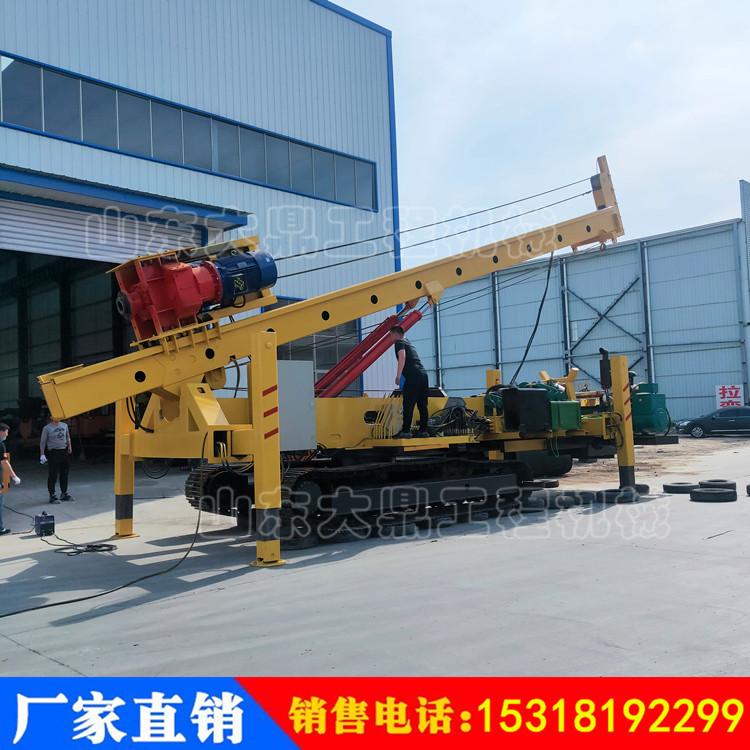 大型履带式打桩机 双动力头长螺旋打桩机 CFG地桩打桩机