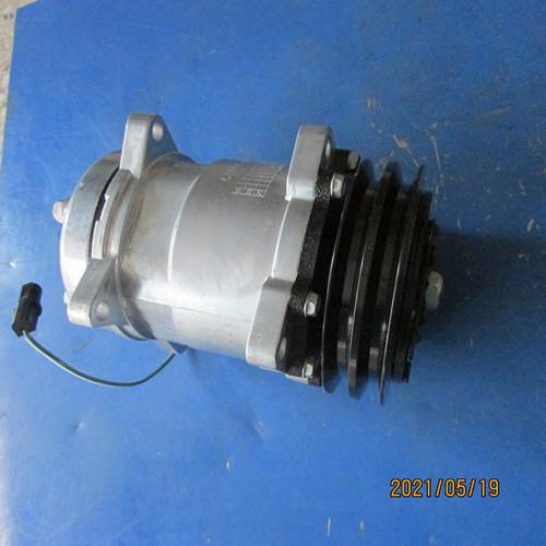 供应徐工装载机空调配件860165403 SE5H14(24V)压缩机总成