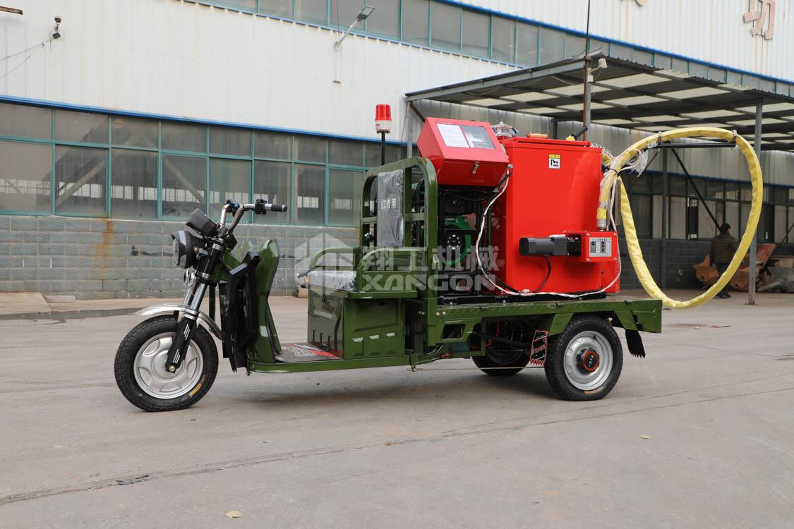 山东翔公机械沥青灌缝机厂家现货地面灌缝设备自行走灌缝机
