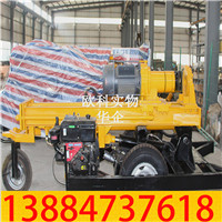 型气动水井钻机轮式气动打井机价格