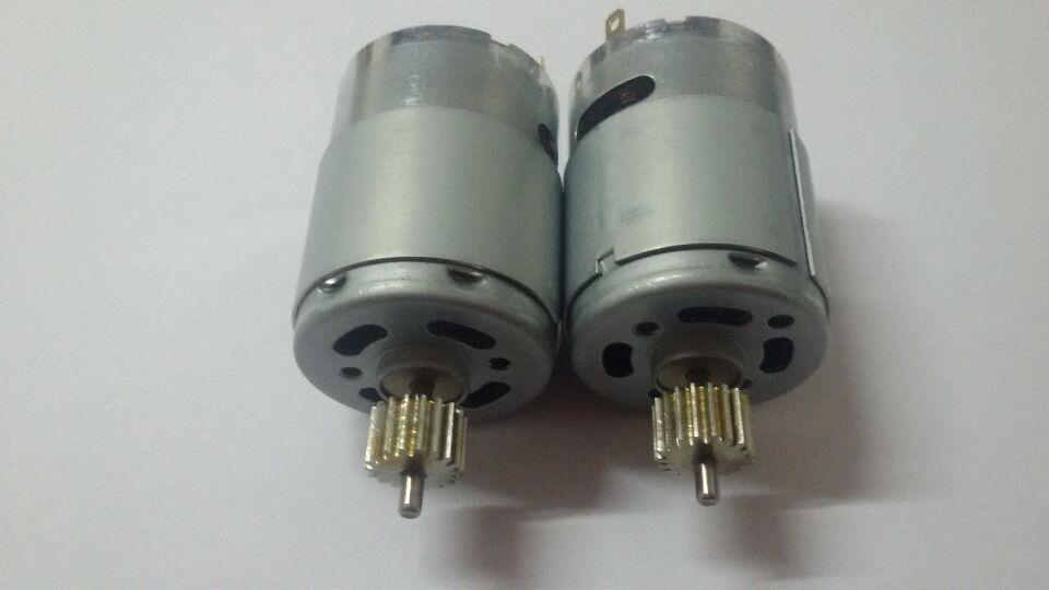挖掘机油门专用[RS-385PH-16140加齿轮]直流小电...