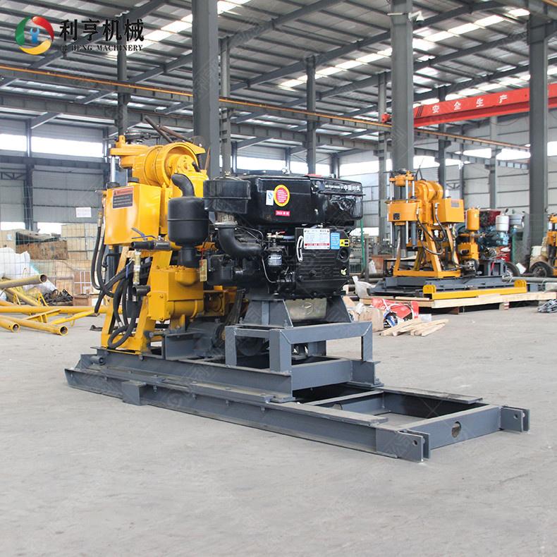 多用途岩芯取样钻机 200m液压岩芯钻机 柴油动力地质勘探水井钻孔