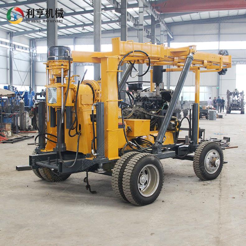 XYX-3轮式液压岩芯钻机 600米民用钻井取芯钻机 中深孔地质勘探