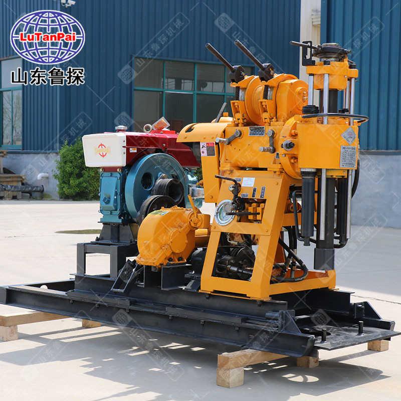 鲁探供应HZ-130YY可移机液压水井钻机 回转式小型挖井机 打井效率高