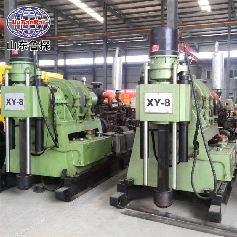 XY-8液压水井钻机打井设备 钻井机打井机  液压式水井钻机 全自动大型挖井设备
