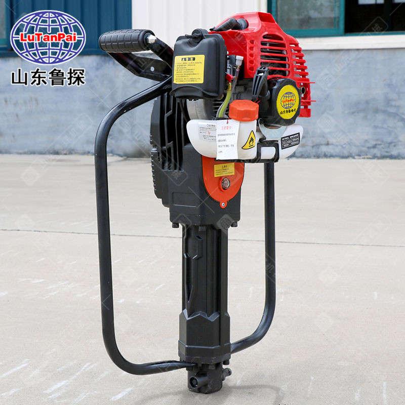 QTZ-1小型轻便取土钻机 手持式土壤取样钻机 汽油机便携式取土钻机 鲁探现货供应