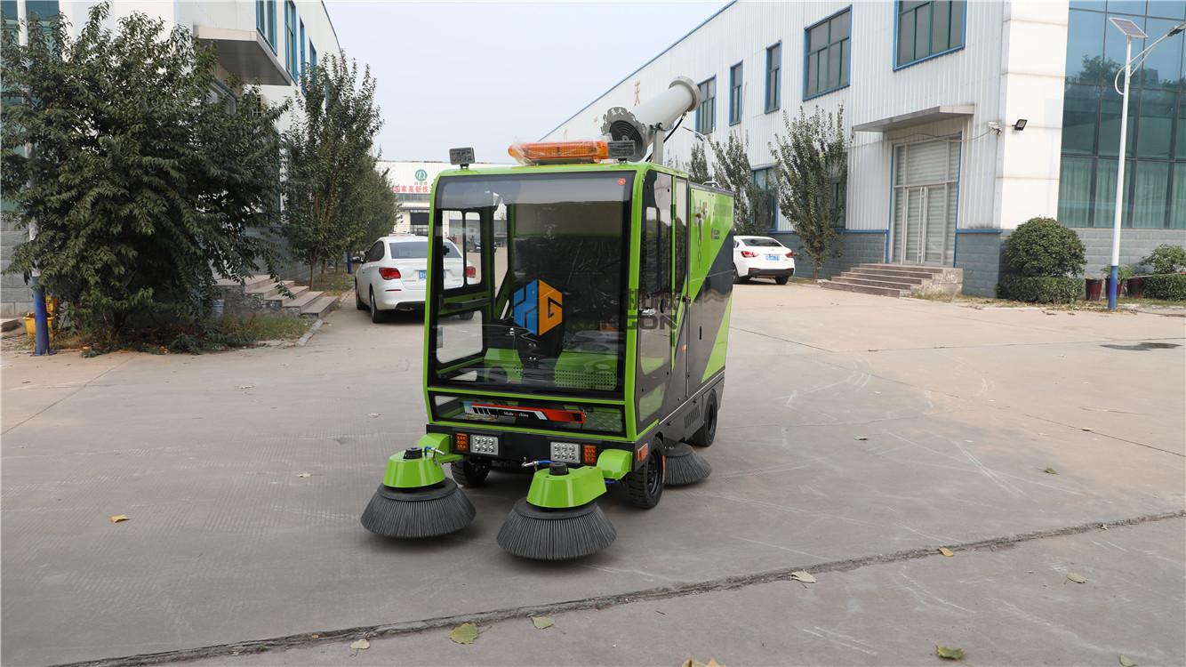 河南新乡纯电动全封闭环卫扫地车公园马路扫地车环卫扫地车