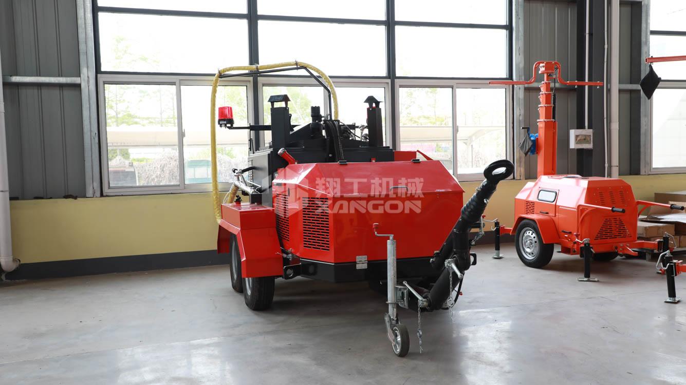 安徽合肥500新款沥青灌缝机厂家现货地面裂痕修补补缝机混凝土沥青地面裂痕修补机