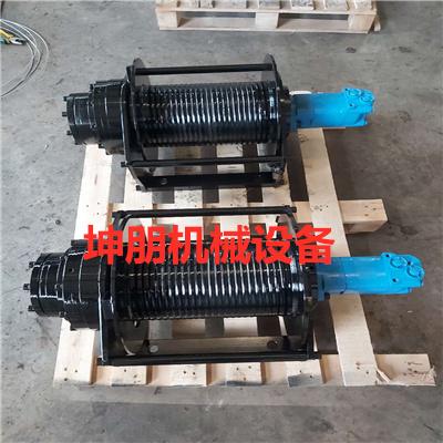 坤朋机械工程液压绞车 液压绞车3吨 下方液压卷扬机