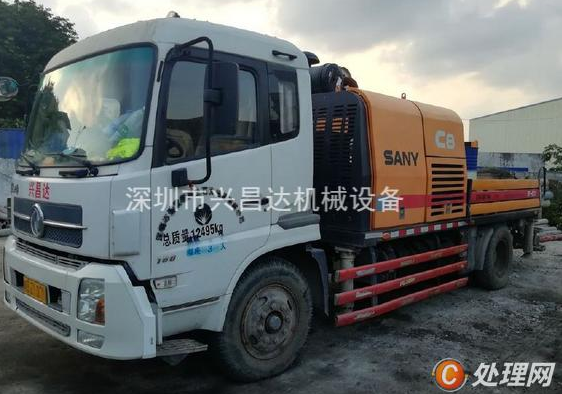 广东三一二手混凝土泵车