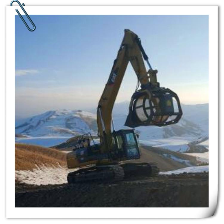 多功能旋转筛分斗 液压筛分斗 专业挖机属具厂家