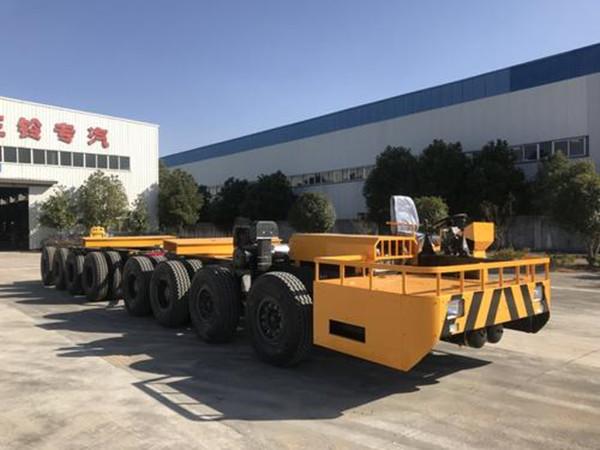 鑫驰四桥双向快速轮胎式220T宽体运梁炮车厂家供应销售