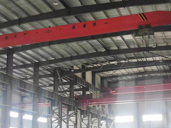 山东莱芜10吨单梁行吊厂家20吨起重机